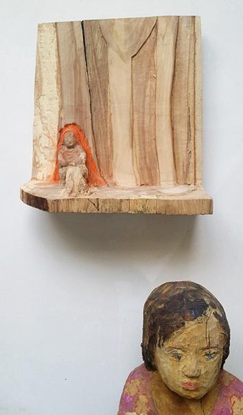 CarlaRump_houtsculpturen_GalerieBMB