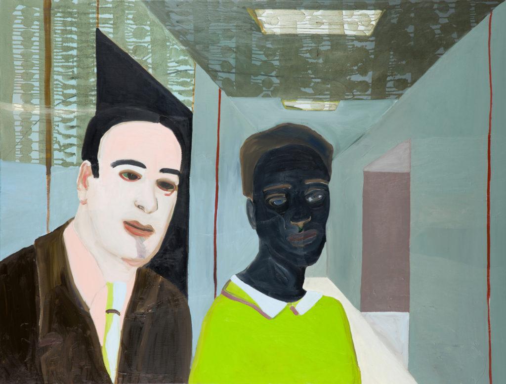 ^Astrid Oudheusden 'couple' 110 x 145 cm