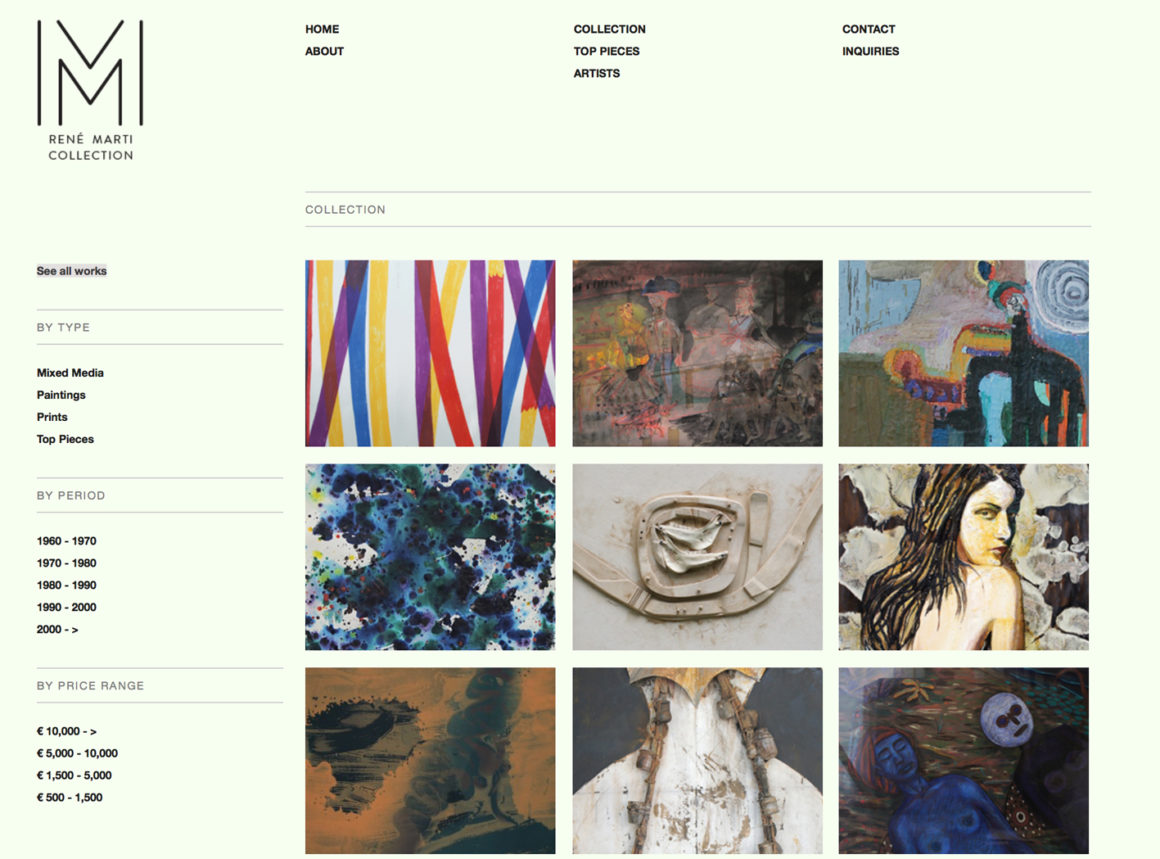 Marti Collection – site
