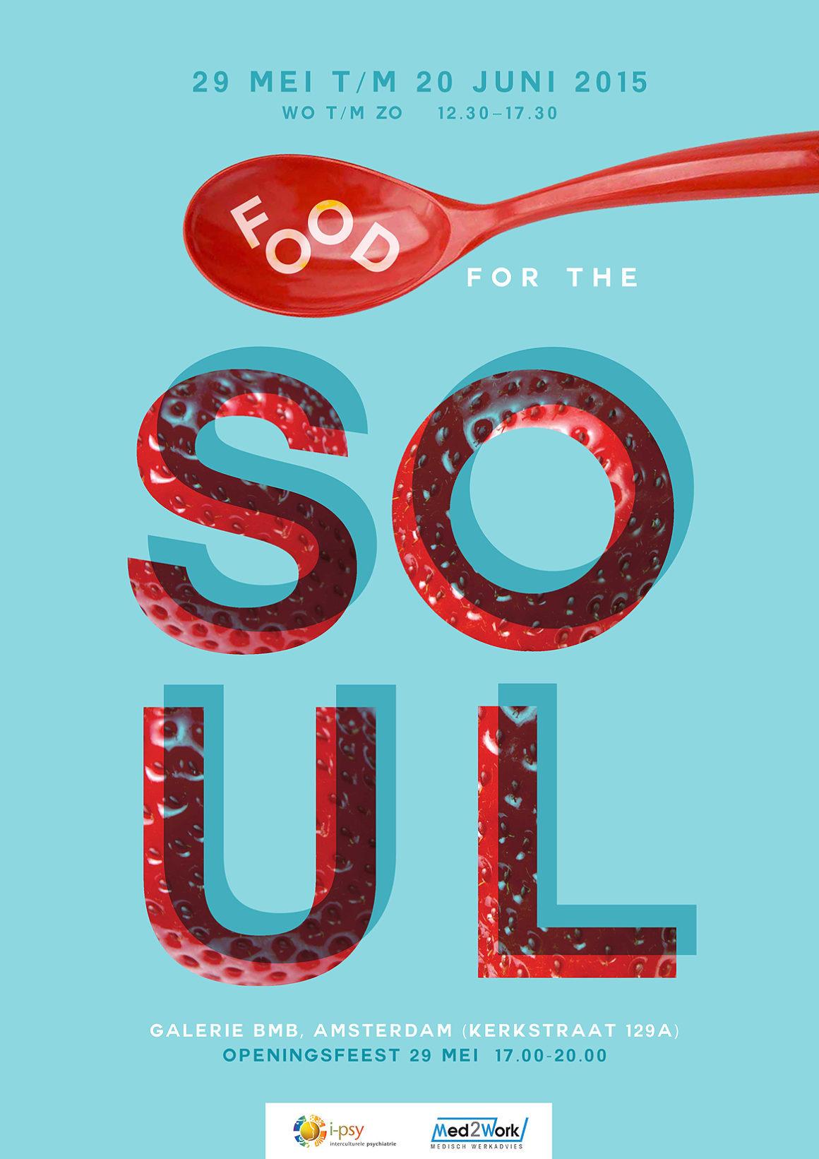 i-psy open atelier   FOOD for the SOUL 29 mei – 20 juni 2015